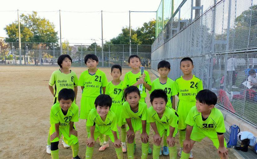 ひじりSCカップU-9大会3位