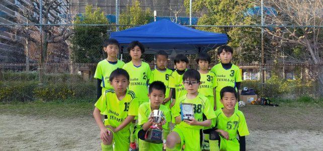 Spring-CUP U-8大会優勝!
